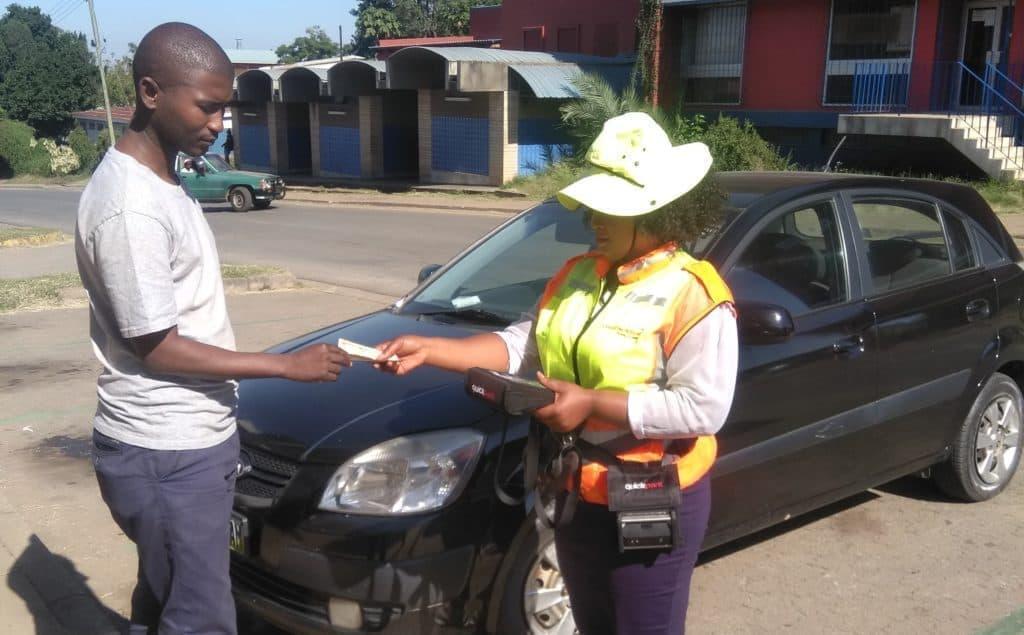 Paying Parking Marshal